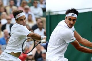 Roger Federer batte Lorenzo Sonego 7-5, 6-4, 6-2 e vola ai quarti di Wimbledon