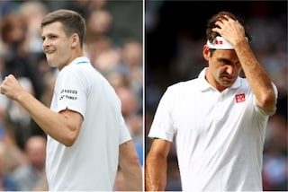 Federer saluta Wimbledon: Hurkacz lo travolge e ora aspetta Berrettini