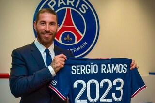 """Sergio Ramos al PSG, ufficiale: """"È la squadra migliore per sognare"""""""
