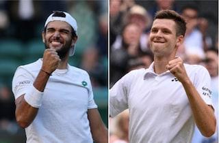 Semifinale Wimbledon 2021, il 9 luglio Berrettini-Hurkacz: orari e dove vederla in TV