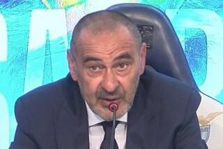 """Sarri alla Lazio, inizio col botto: """"Luis Alberto deve chiedere scusa a me e ai compagni"""""""
