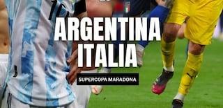 La pazza idea può diventare realtà: giocare Argentina-Italia per la Supercopa Maradona