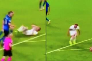 """La guarigione miracolosa di Kane contro l'Italia: """"Ma non era Immobile il simulatore?"""""""