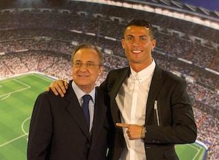 """""""Cristiano Ronaldo è un idiota"""": il nuovo audio rubato a Florentino Perez scatena la bufera"""