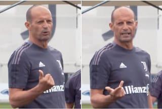 Le tre richieste di Allegri ai giocatori della Juventus nel primo allenamento stagionale