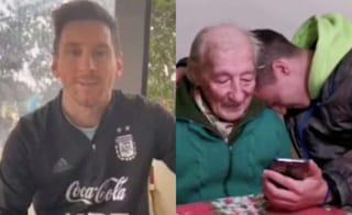 """Un tifoso di 100 anni registra i suoi gol a mano sul taccuino, Messi lo ringrazia: """"È una follia"""""""