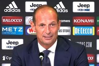 """Allegri alla Juventus, cosa ha detto in conferenza stampa: """"Qui per un gesto d'amore"""""""