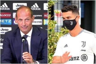 """Allegri annuncia il nuovo ruolo di Cristiano Ronaldo nella Juve: """"Un uomo di 36 anni"""""""