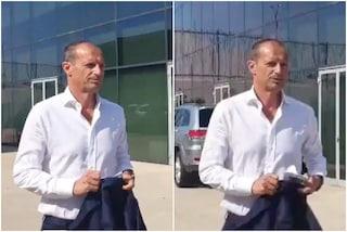 """La Juve riparte tra i cori per Allegri: """"Mister portaci la Champions"""""""