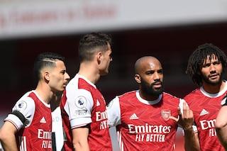 Arsenal, annullata la tournée negli Stati Uniti a causa del Covid: salta l'amichevole con l'Inter