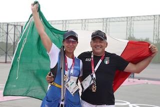 Diana Bacosi è medaglia d'argento alle Olimpiadi nello skeet femminile del tiro a volo