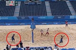 L'Italia del beach volley è uno spettacolo: il punto decisivo con la Polonia è irreale