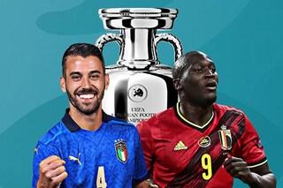 Europei 2021, Belgio-Italia: orario TV e dove vederla, le ultime sulle formazioni