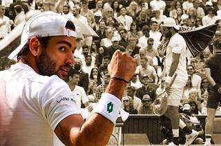 """Le lacrime di Berrettini, in finale a Wimbledon: """"Non avevo mai sognato una cosa così grande"""""""