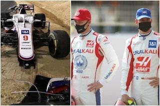 La classifica 'distruttori' della Formula 1 2021: Mick Schumacher fa più danni di Mazepin