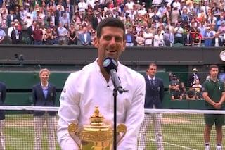 """L'omaggio di Djokovic a Berrettini: """"È un martello, mi ha lasciato i segni sulla pelle"""""""