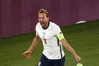 Italia-Inghilterra è la finale degli Europei: Kane stende la Danimarca nei supplementari