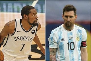 """Kevin Durant e Isaiah Thomas scioccati dallo stipendio di Messi: """"Follia"""""""