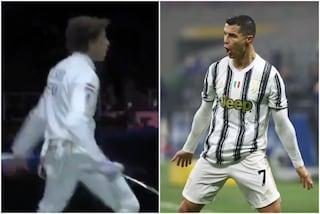 """Vince nella scherma alle Olimpiadi ed esulta come Cristiano Ronaldo: """"Siuuuu"""""""