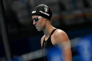 Beffa per Federica Pellegrini e la 4x100 mista, il podio sfugge per 33 centesimi