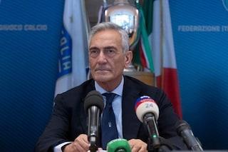 """Il nuovo calcio di Gravina: """"Green pass per i calciatori e fusione Serie B-Serie C"""""""