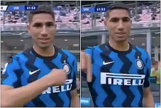 """Cosa è andato storto tra Hakimi e l'Inter dopo quel gesto inequivocabile: """"Io resto"""""""