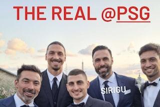 """""""Il vero PSG"""": Ibrahimovic punge il suo ex club al matrimonio di Verratti"""