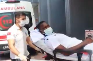 Malore per Babacar in allenamento: spasmo cardiaco, trasportato in ospedale