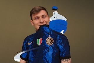 Presentata la nuova maglia dell'Inter: trama a serpente e Scudetto