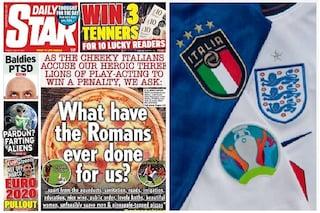 """Prima pagina d'assalto, in Inghilterra provocano l'Italia: """"Loschi e sfacciati"""""""