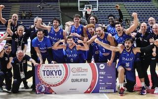 L'Italbasket vola alle Olimpiadi dopo 17 anni: le avversarie che sfiderà a Tokyo