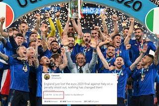 """""""L'Inghilterra ha appena perso Euro 2020 ai rigori contro l'Italia"""": ma lo ha scritto nel 2013"""