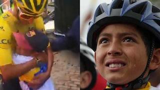 È morto Julián Gómez, il bambino che il mondo vide piangere per il trionfo di Bernal al Tour 2019