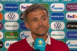"""Luis Enrique: """"Brava Italia, in finale faccio il tifo per te"""""""