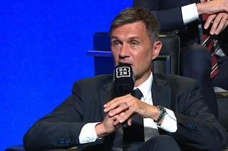 """Maldini: """"L'addio al Milan di Donnarumma fa male, è una perdita importante"""""""