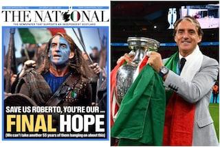 Il giornale scozzese The National: abbonamenti a vita per Mancini Braveheart e gli Azzurri