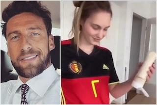 """Italia da godere, Marchisio si lascia andare su Instagram: """"Se è porno lo tolgo"""""""