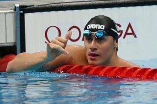 Tonfi e trionfi nel nuoto alle Olimpiadi: Detti delude, Martinenghi in finale col record italiano