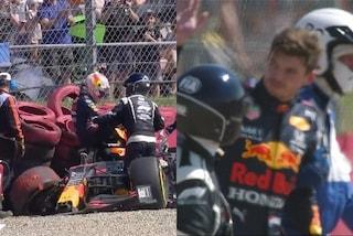 Le condizioni di Max Verstappen dopo l'incidente con Hamilton a Silverstone