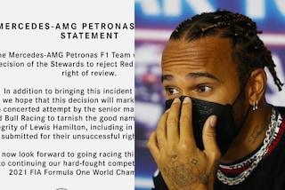 """Tra Mercedes e Red Bull è guerra aperta, spuntano i documenti: """"Vogliono infangare Hamilton"""""""