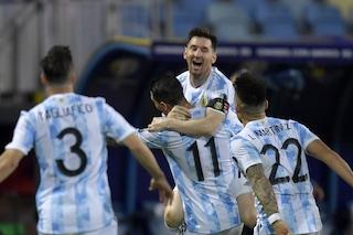 Argentina-Colombia di Copa America dove vederla in TV su Sky o in streaming: canale e orario