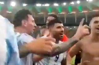 """La lezione di Messi, fulmina De Paul nel bel mezzo della festa: """"Non farlo"""""""