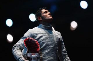 Aldo Montano è alla quinta Olimpiade, ultima gara per chiudere la sua fantastica carriera