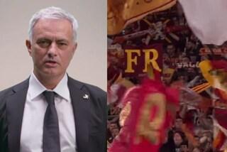 """Mourinho pazzo dell'inno della Roma: """"Mi piaceva già da avversario, conosco tutte le parole"""""""