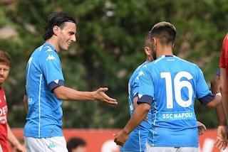 Amichevoli: il Napoli vola con Osimhen, la Roma si affida a Dzeko e Zaniolo. Bene anche il Bologna