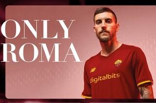 La Roma presenta la prima maglia targata New Balance: Digitalbits nuovo main sponsor