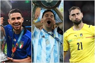 Jorginho e Donnarumma candidati al Pallone d'Oro: assalto a Messi