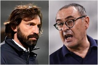 """""""L'effetto Guardiola ha fatto tanti danni"""", Sarri ristabilisce le categorie con Pirlo"""