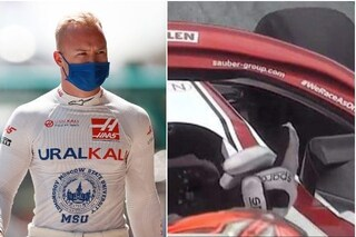 """Mazepin litiga pure con Hamilton e Raikkonen e si sfoga: """"La Formula 1 è un mondo ipocrita"""""""