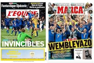 """Il mondo celebra il trionfo dell'Italia agli Europei: ora siamo """"gli invincibili"""""""